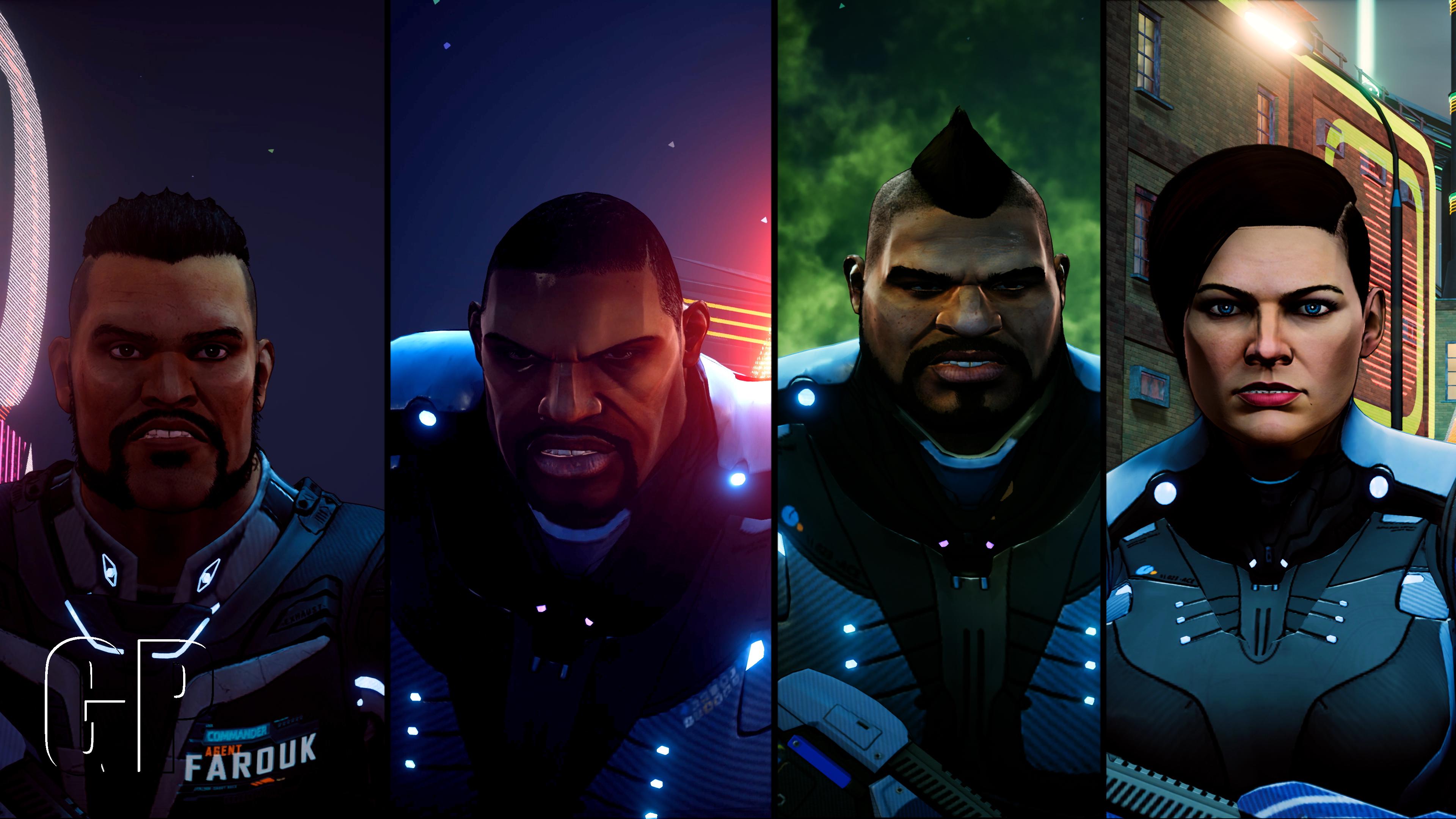 Crackdown 3 - Agents art