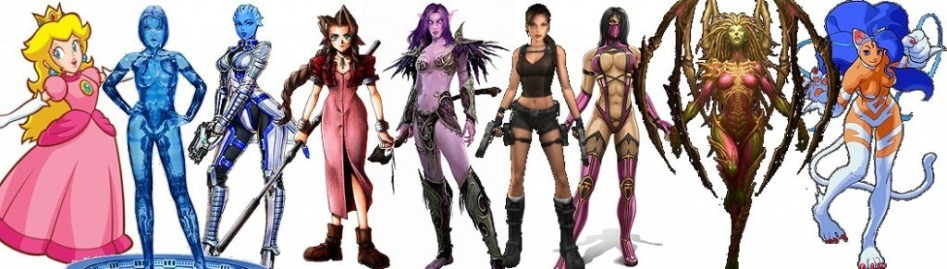Female characters in games