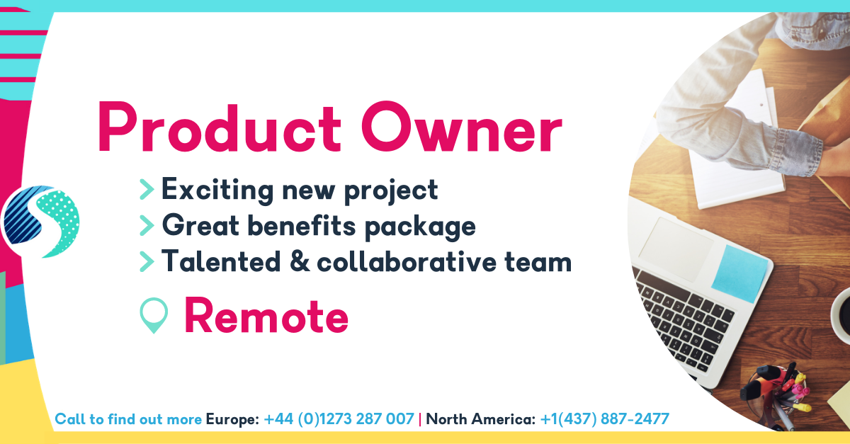 Remote Product Owner/Producer - Exciting New Project - Talented & Collaborative Team - Great Stocks & Benefits Package