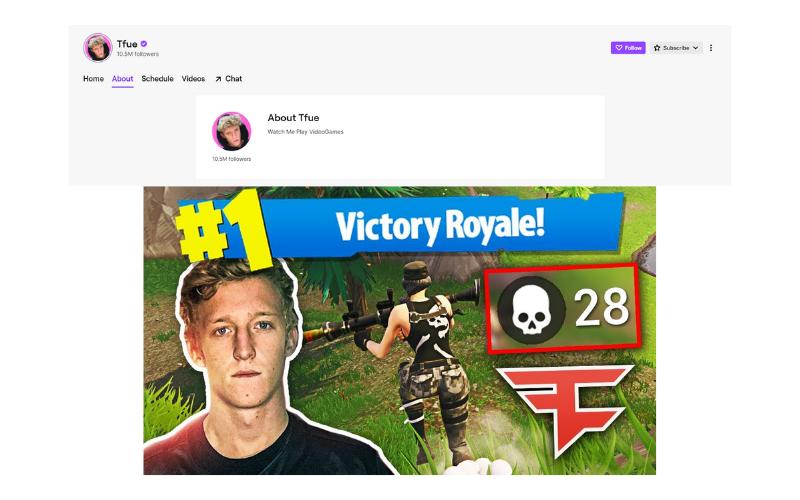 Tfue Twitch Channel