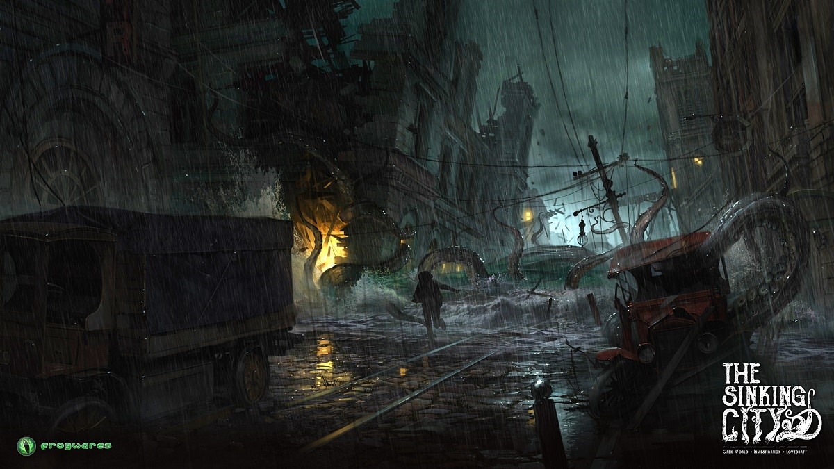 The Sinking City Game still