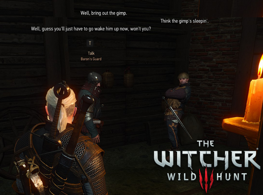 The Witcher 3: Pulp Fiction Easter Egg