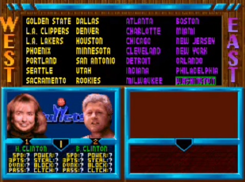 NBA Jam Tournament Edition – Play as Fresh Prince, Bill Clinton & Prince Charles