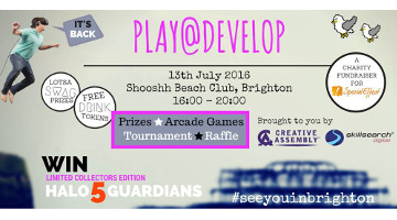 Play@Develop 2016 Charity Event